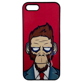 کاور طرح میمون مدل 0134 مناسب برای گوشی موبایل اپل iphone 5/5s/se