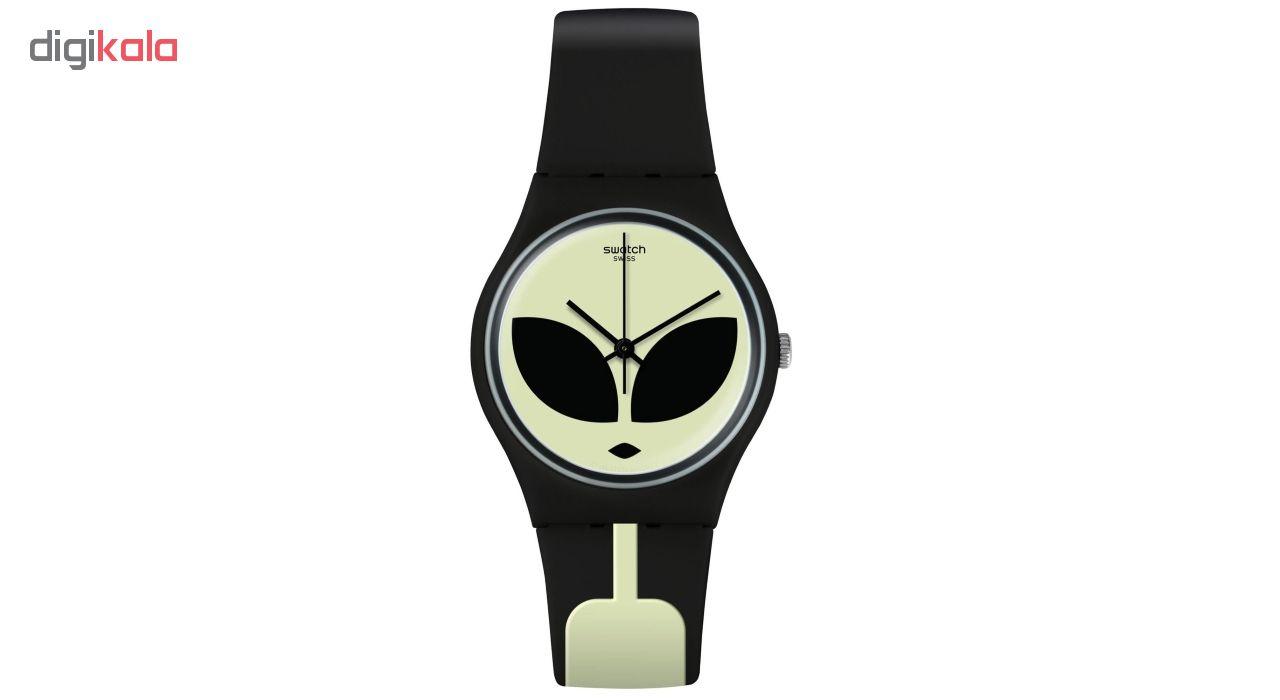 ساعت مچی عقربه ای زنانه سواچ مدل GB307