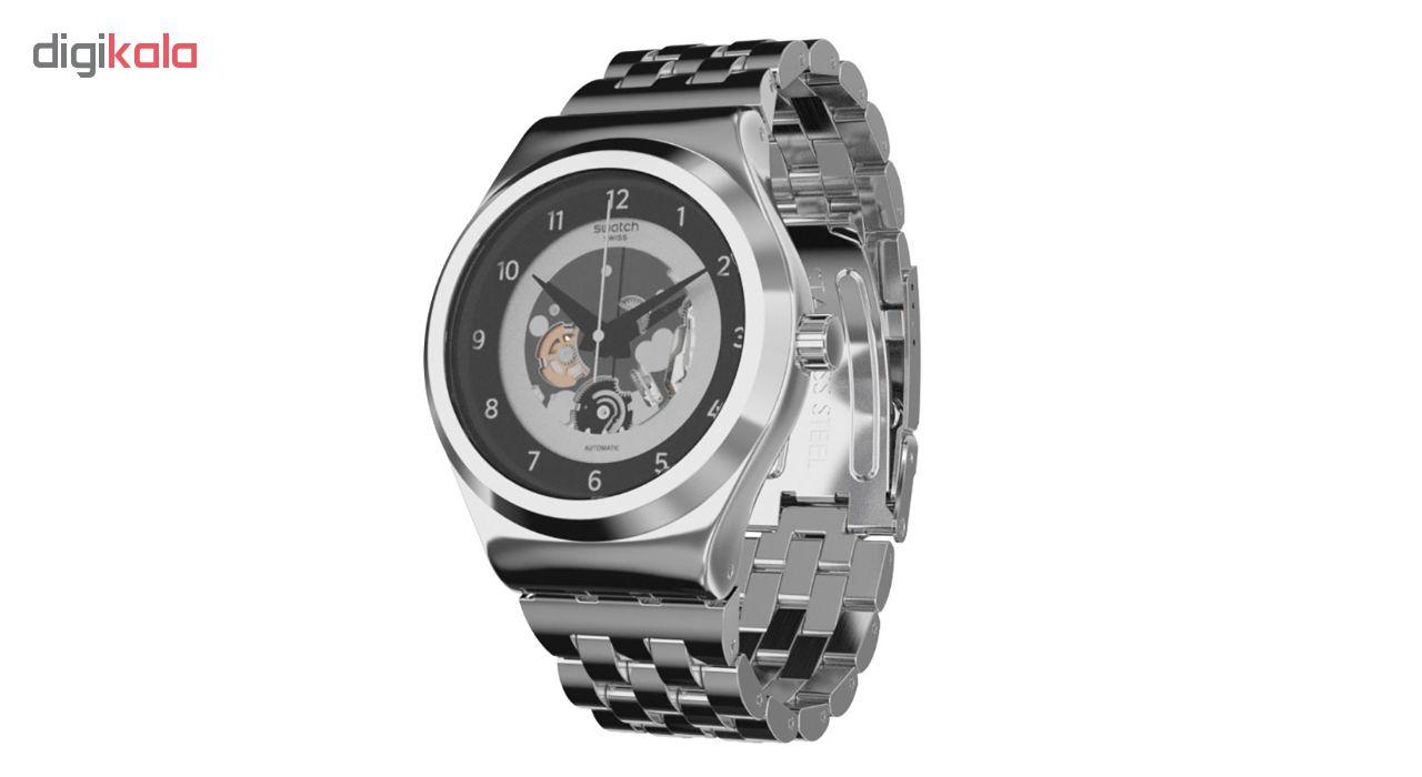 خرید ساعت مچی عقربه ای مردانه سواچ مدل YIS416G