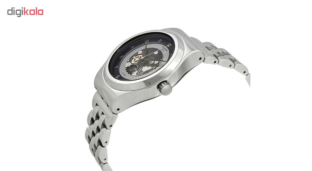ساعت مچی عقربه ای مردانه سواچ مدل YIS416G