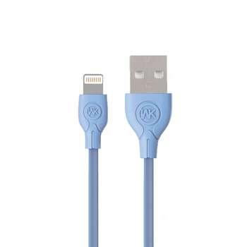 کابل تبدیل USB به لایتنینگ دبلیو کی مدل Ultra Speed طول 1 متر