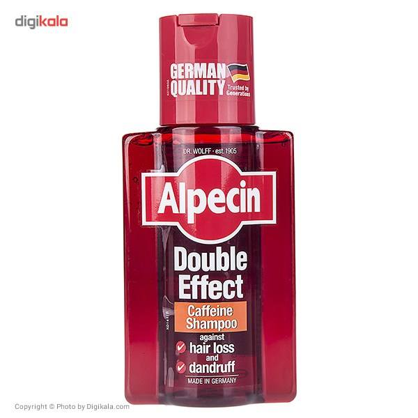 شامپو ضد شوره و تقویت کننده آلپسین مدل Double Effect Caffeine حجم 200 میلی لیتر main 1 1