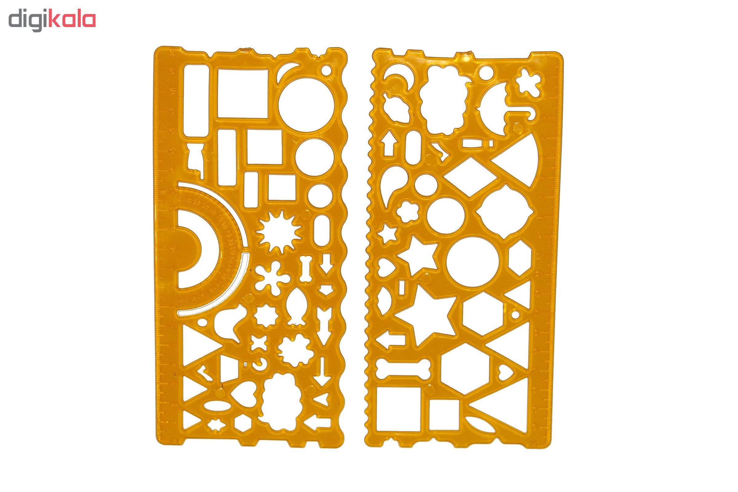 ست شابلون مدل Flexible بسته ۲ عددی main 1 1