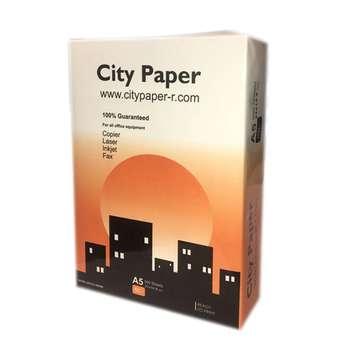 کاغذ A5 سیتی پیپر مدل A51 بسته 500 عددی 80 گرم