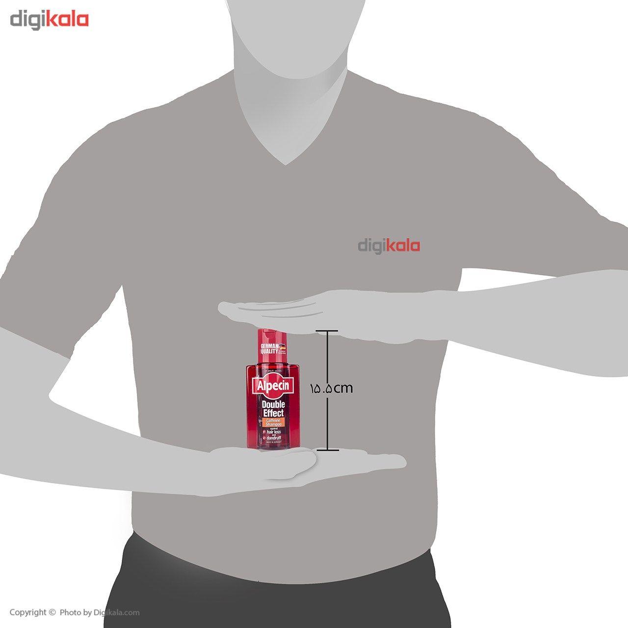 شامپو ضد شوره و تقویت کننده آلپسین مدل Double Effect Caffeine حجم 200 میلی لیتر main 1 3