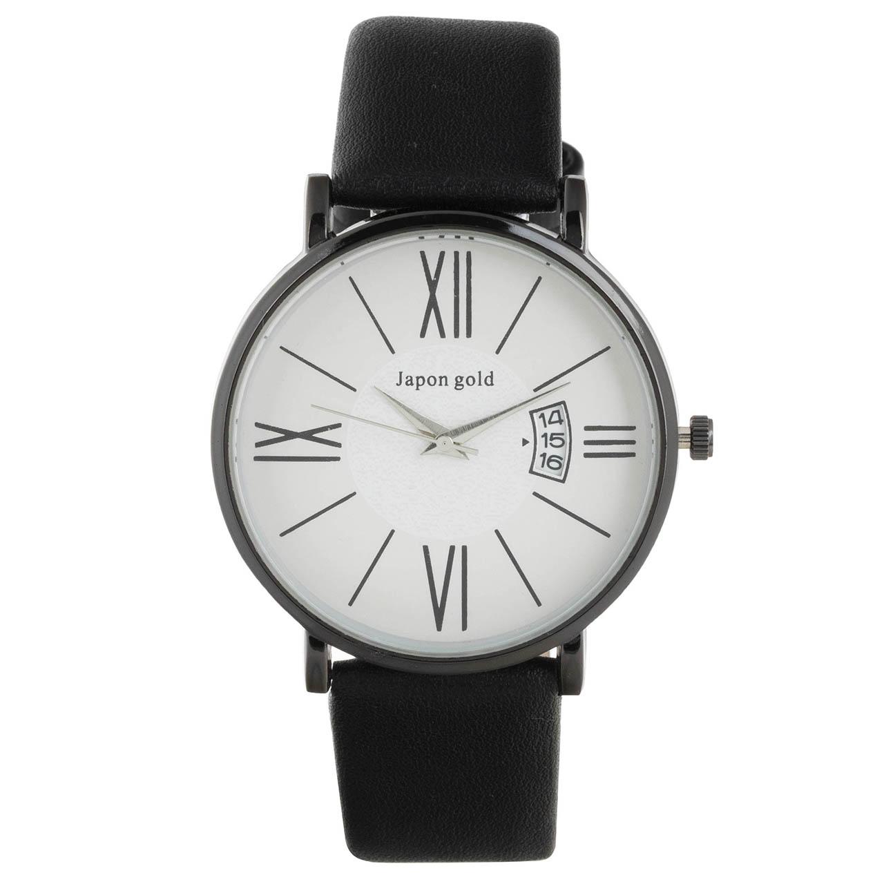 ساعت مچی عقربه ای ژاپن گلد مدل T01
