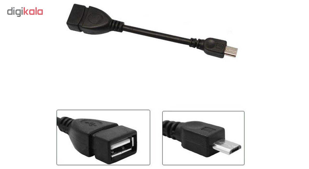 کابل تبدیل USB به microUSB مدل st-15 به طول 14 سانتی متر main 1 2