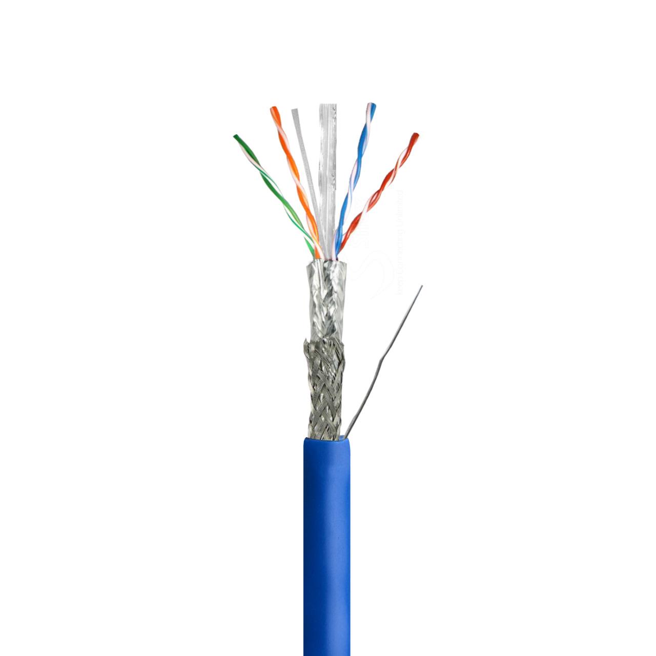 کابل شبکه  CAT6 SF/UTP LSZH کی نت پلاس مدل KP-N1257 طول ۳۰۵ متر