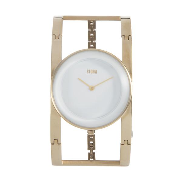 ساعت مچی عقربه ای زنانه استورم مدل ST 47323-GD