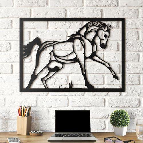 استیکر چوبی آتینو طرح اسب