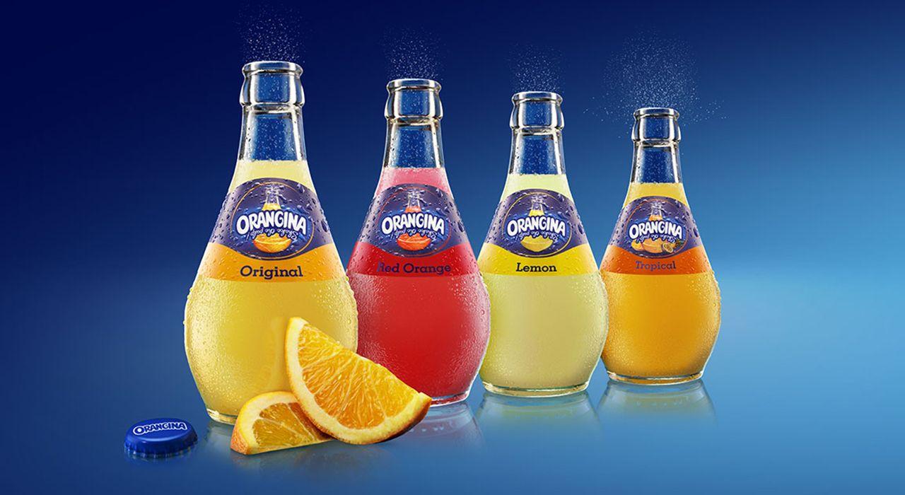 نوشابه گازدار با طعم پرتقال اورنجینا - 320 میلی لیتر main 1 5
