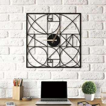 ساعت دیواری آتینو طرح Fibonacci سایز L