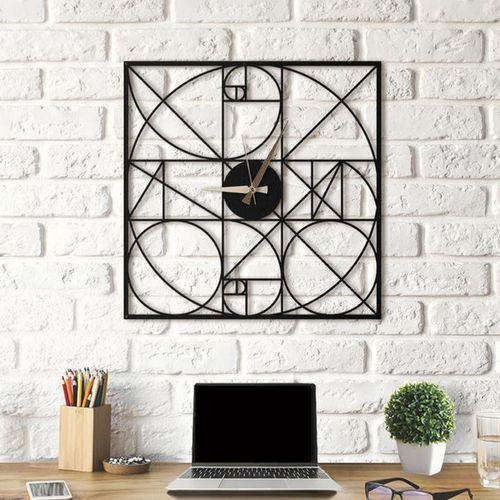 ساعت دیواری آتینو طرح Fibonacci سایزXL