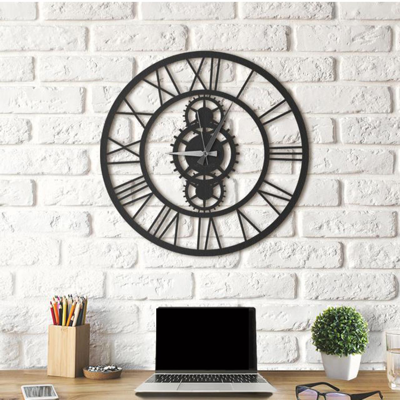 ساعت دیواری آتینو طرح نارون سایز XL
