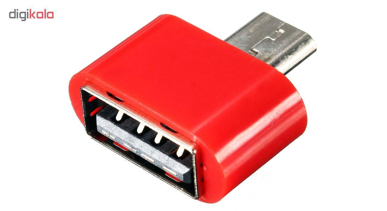 مبدل microUSB به USB OTG مدل Fashion main 1 9