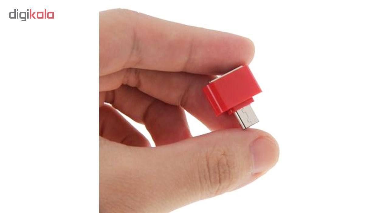 مبدل microUSB به USB OTG مدل Fashion main 1 8