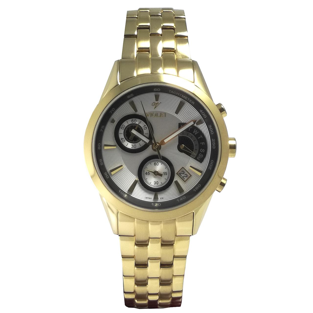ساعت زنانه برند  ویولت مدل 0212L-2METAL
