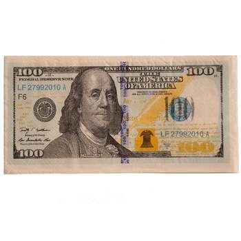 دستمال کاغذی جیبی 20 برگ طرح دلار