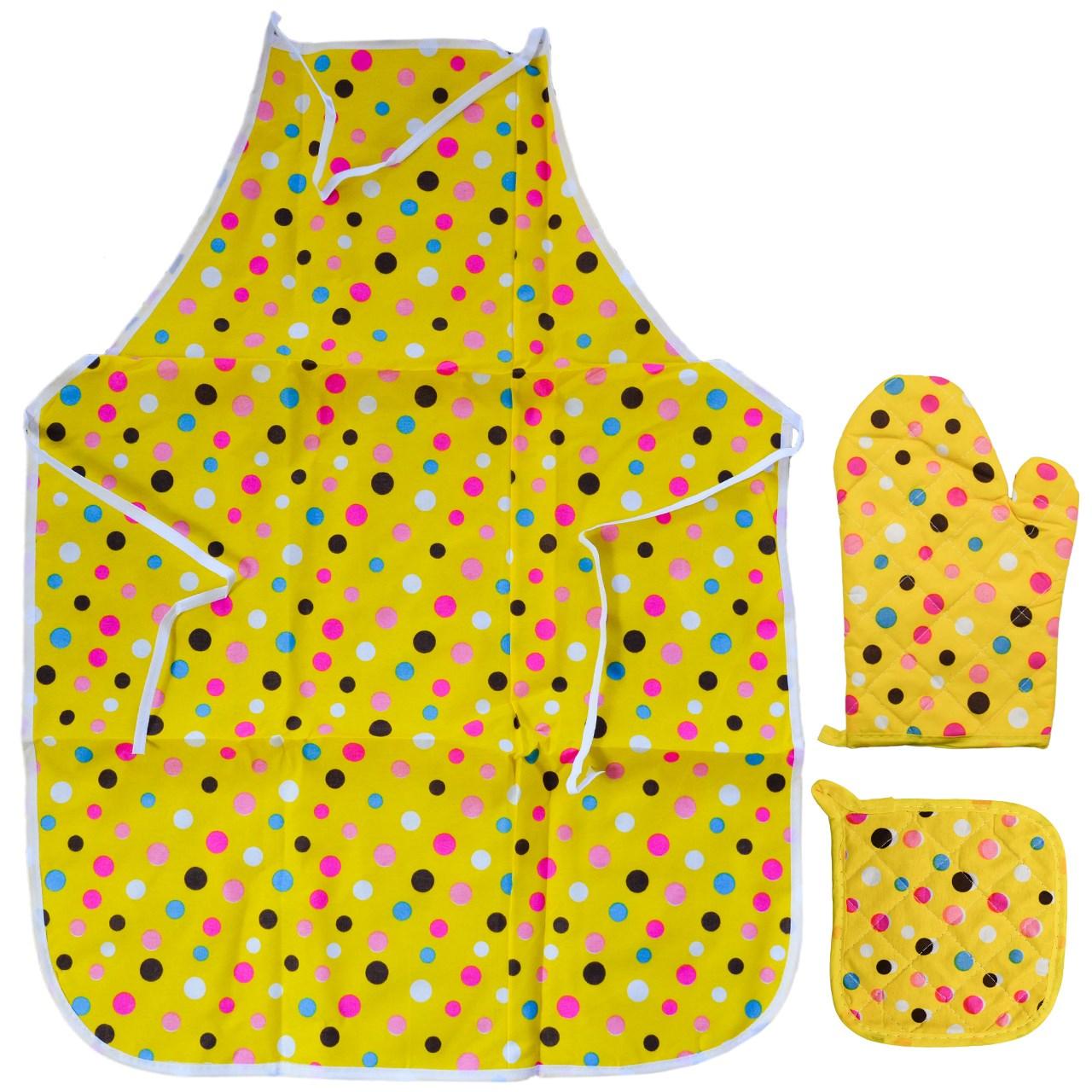 سرویس آشپزخانه 3 پارچه پات پد کد 2341