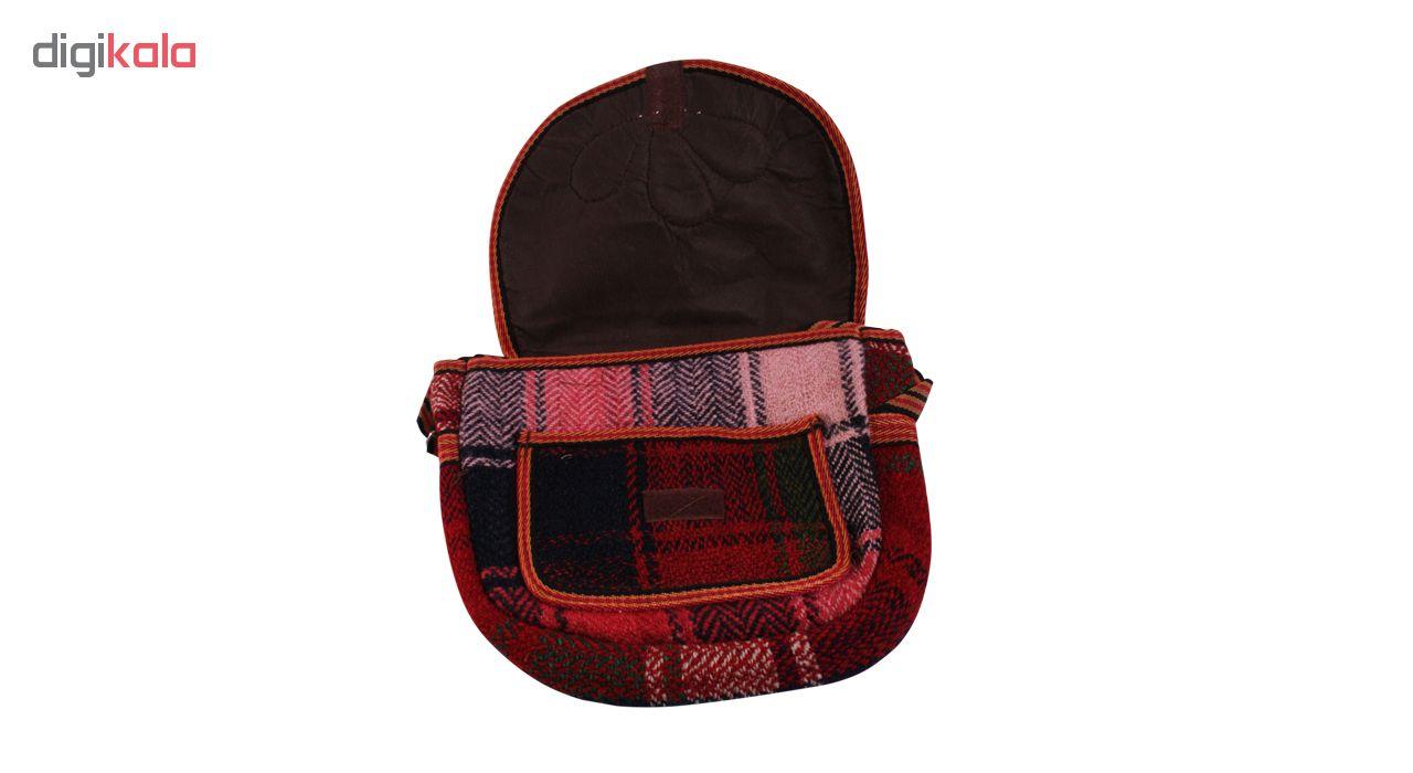 کیف رو دوشی زنانه آیسا طرح سنتی کد H7800