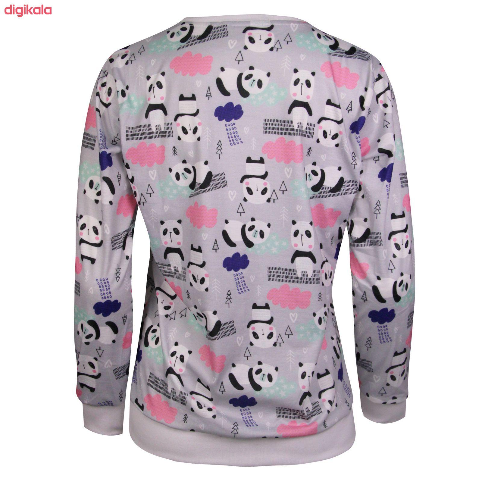 ست تی شرت و شلوار زنانه ماییلدا مدل 3587-1 main 1 3