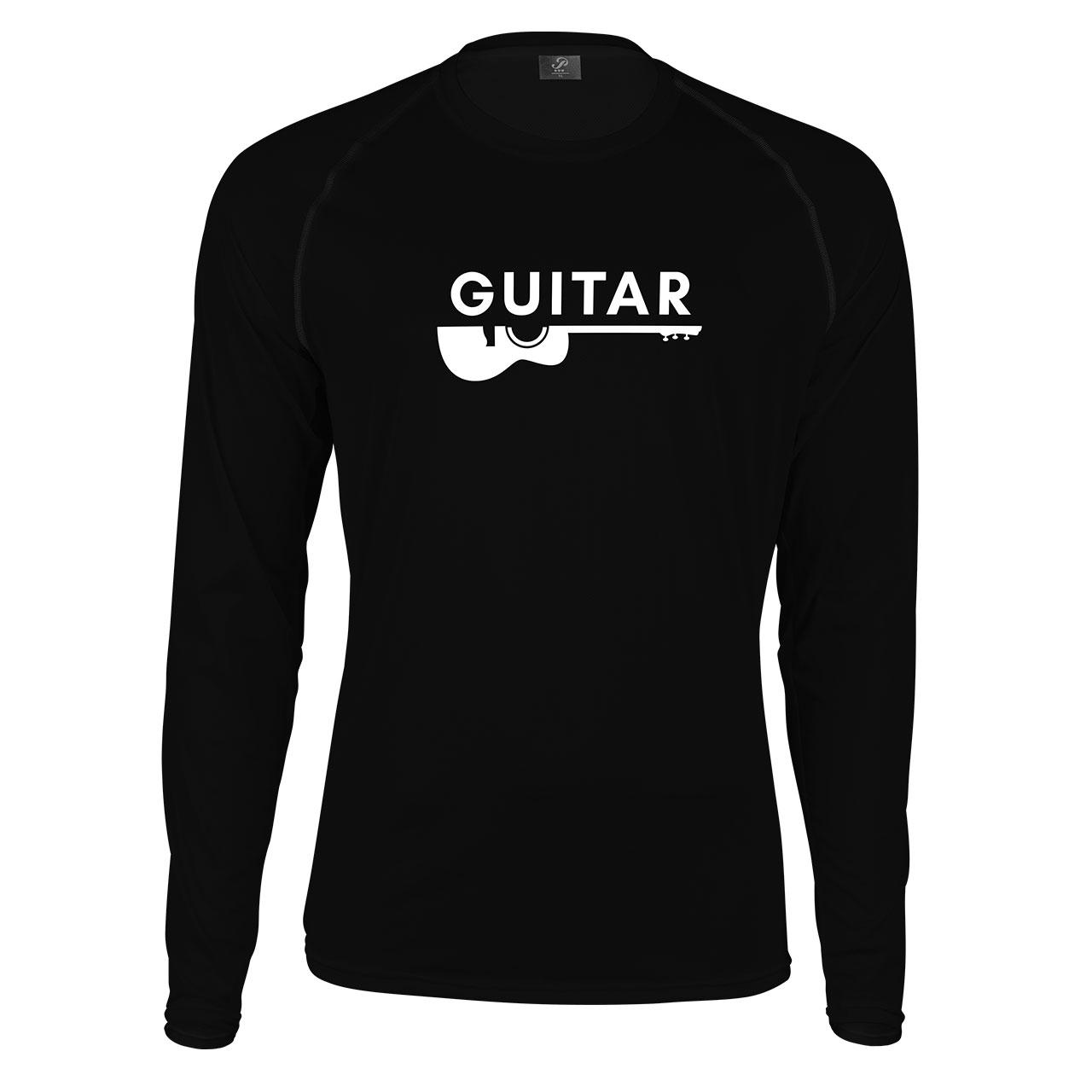 تیشرت آستین بلند پاتیلوک طرح گیتار مدل 330339
