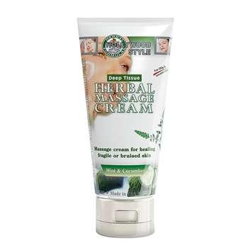 کرم ماساژ گیاهی هالیوود استایل مدل  herbal massage حجم 150میلی لیتر