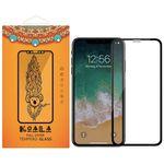 محافظ صفحه نمایش شیشه ای کوالا مدل Full Glue مناسب برای گوشی موبایل اپل آیفون XR thumb
