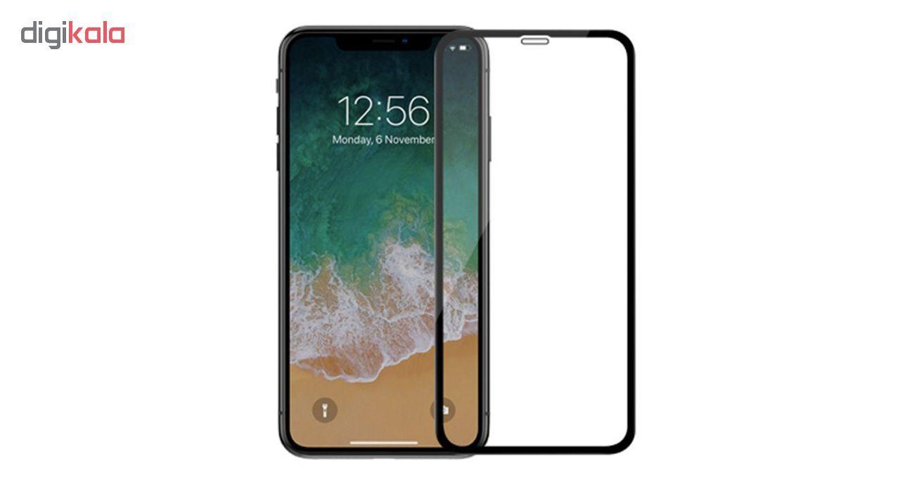 محافظ صفحه نمایش شیشه ای کوالا مدل Full Glue مناسب برای گوشی موبایل اپل آیفون XR main 1 2