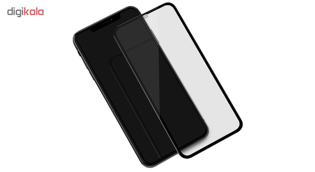 محافظ صفحه نمایش شیشه ای کوالا مدل Full Glue مناسب برای گوشی موبایل اپل آیفون XR main 1 3