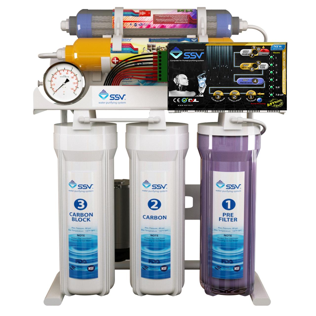 قیمت                      تصفیه آب هوشمند اس اس وی مدل MaxTec S800