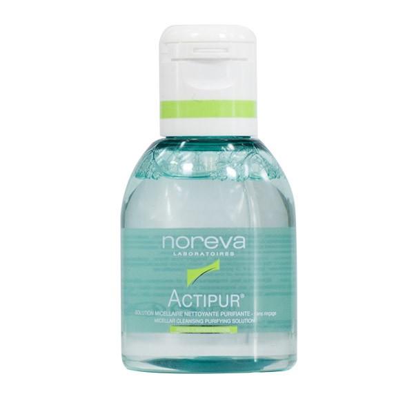 محلول پاک کننده آرایش نوروا سری Actipur مدل Micellar Water حجم 100 میلی لیتر