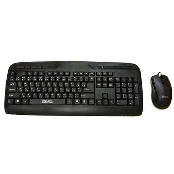 کیبورد و ماوس بی سیم سادیتا مدل SKM-1554WL با حروف فارسی | Sadata SKM-1554WL Wireless Keyboard and Mouse