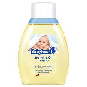 روغن بدن کودک بیبی هارت مدل soothing oil حجم 250 میلی لیتر