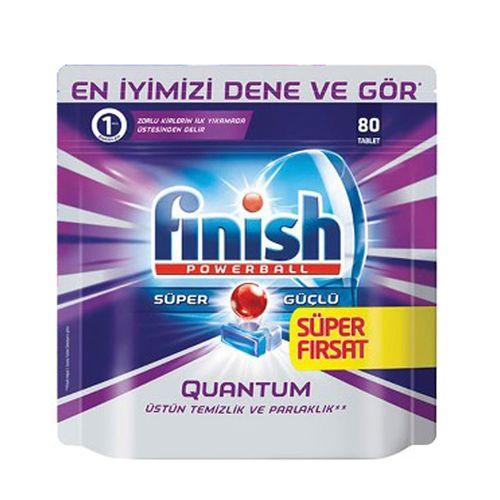 قرص ماشین ظرفشویی فینیش مدل کوانتوم بسته 80 عددی