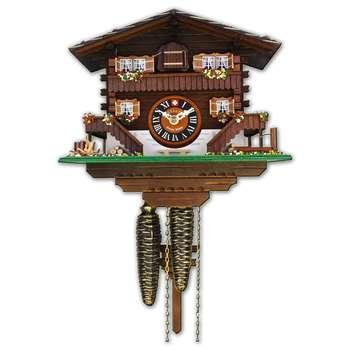 ساعت دیواری لوتچر مدل کلبهی برینتز