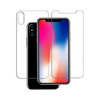 محافظ صفحه نمایش و پشت گلس پرو پلاس مدل Premium Tempered مناسب برای گوشی موبایل اپل آیفون X