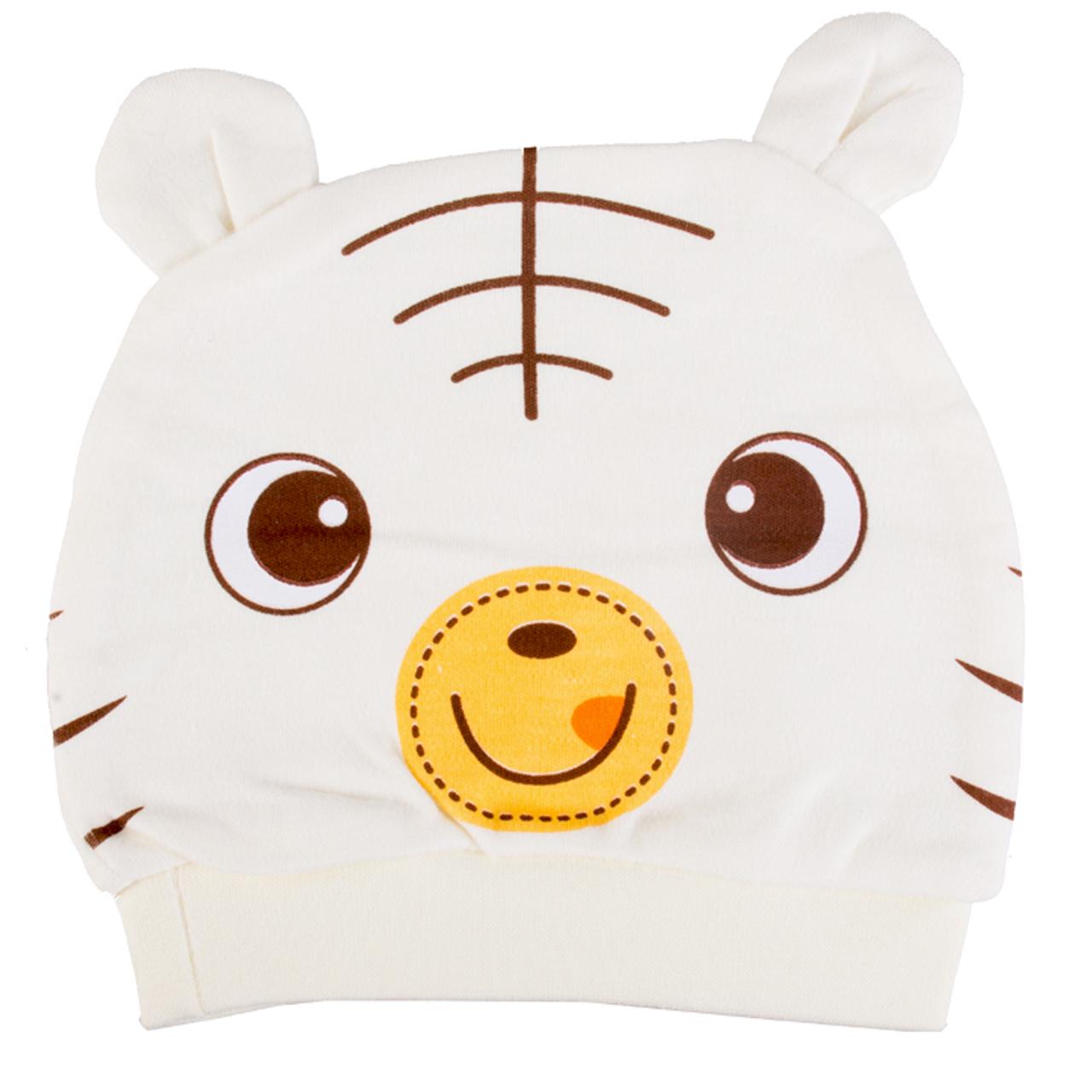 کلاه نوزاد مدل خرس کد 001