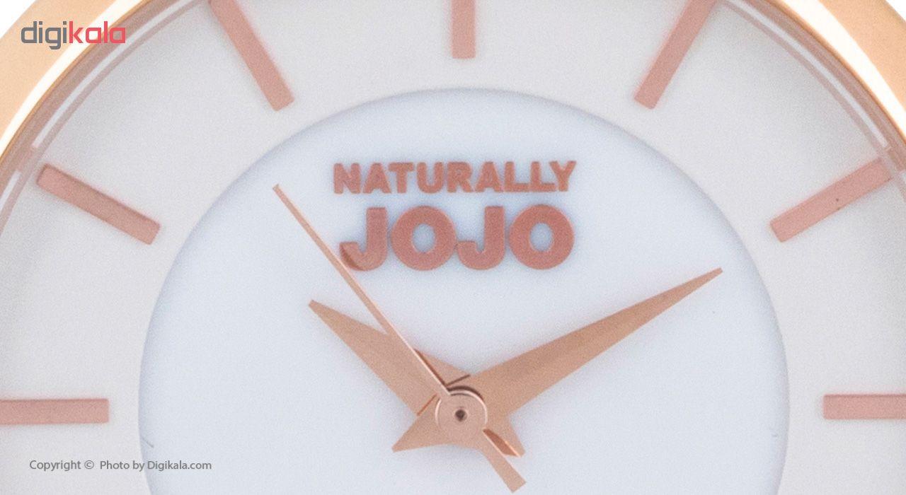 ساعت مچی عقربه ای زنانه نچرالی ژوژو مدل JO96907.80R