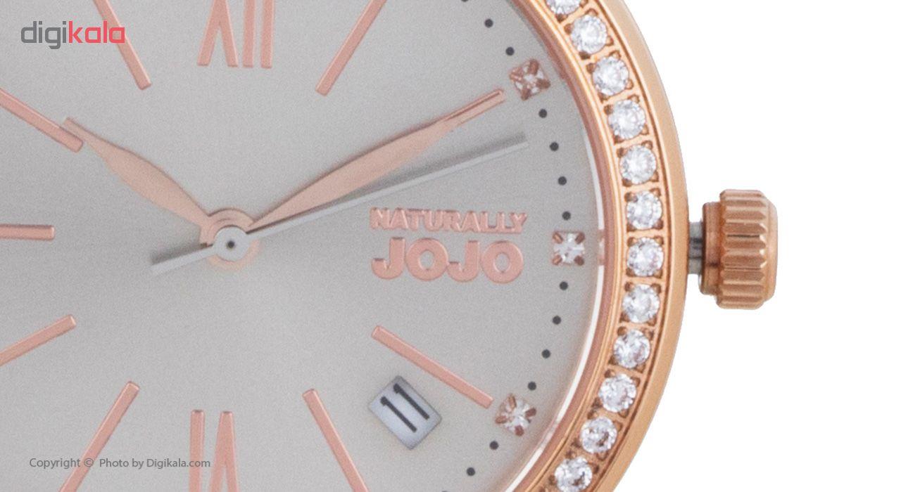ساعت مچی عقربه ای زنانه نچرالی ژوژو مدل JO96902.95R