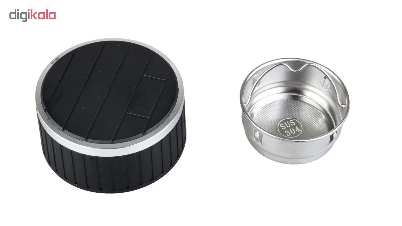 فلاسک دو جداره دمنوش ساز سی اس دی  مدل Glass cup ظرفیت 380 میلی لیتر main 1 2