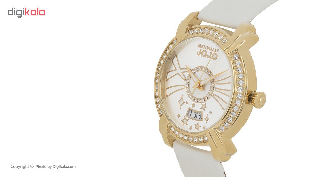 ساعت مچی عقربه ای زنانه نچرالی ژوژو مدل JO96685.80K
