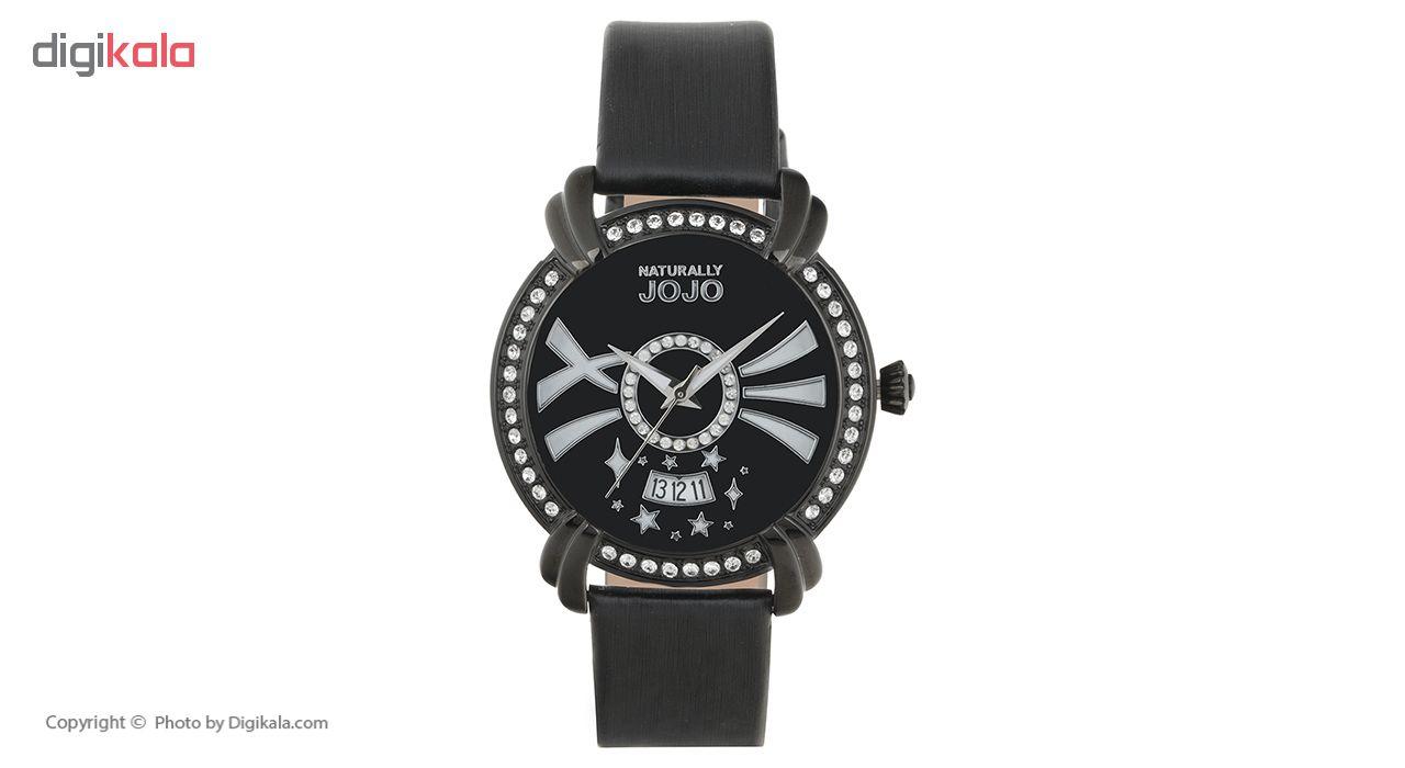 ساعت مچی عقربه ای زنانه نچرالی ژوژو مدل JO96685.88F