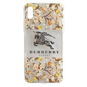 کاور نگین دار و طرحدار  ویسنت مدل Burberry مناسب برای گوشی موبایل آیفون X