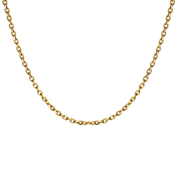 زنجیر طلا 18 عیار زنانه اقلیمه مدل ZT41