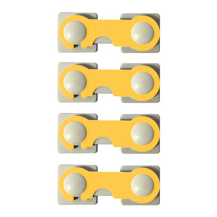 قفل درب کابینت مدل A02 بسته 4 عددی