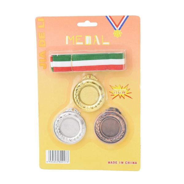 مدال قهرمانی مدل 001 بسته 3 عددی