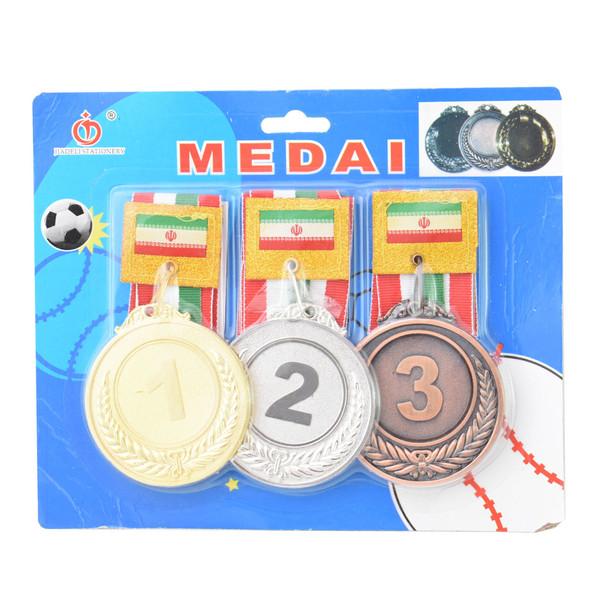 مدال قهرمانی مدل 002 بسته 3 عددی