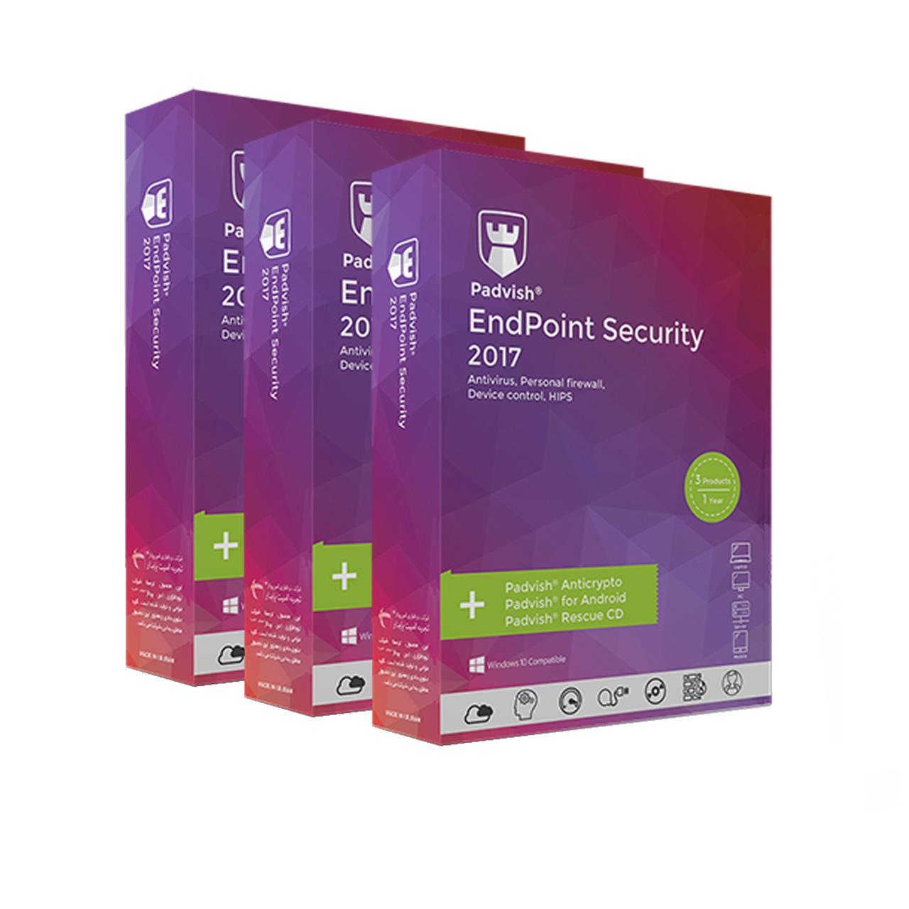 آنتیویروس پادویش یکساله یک کاربره نسخه امنیت پیشرفته بسته 3 عددی