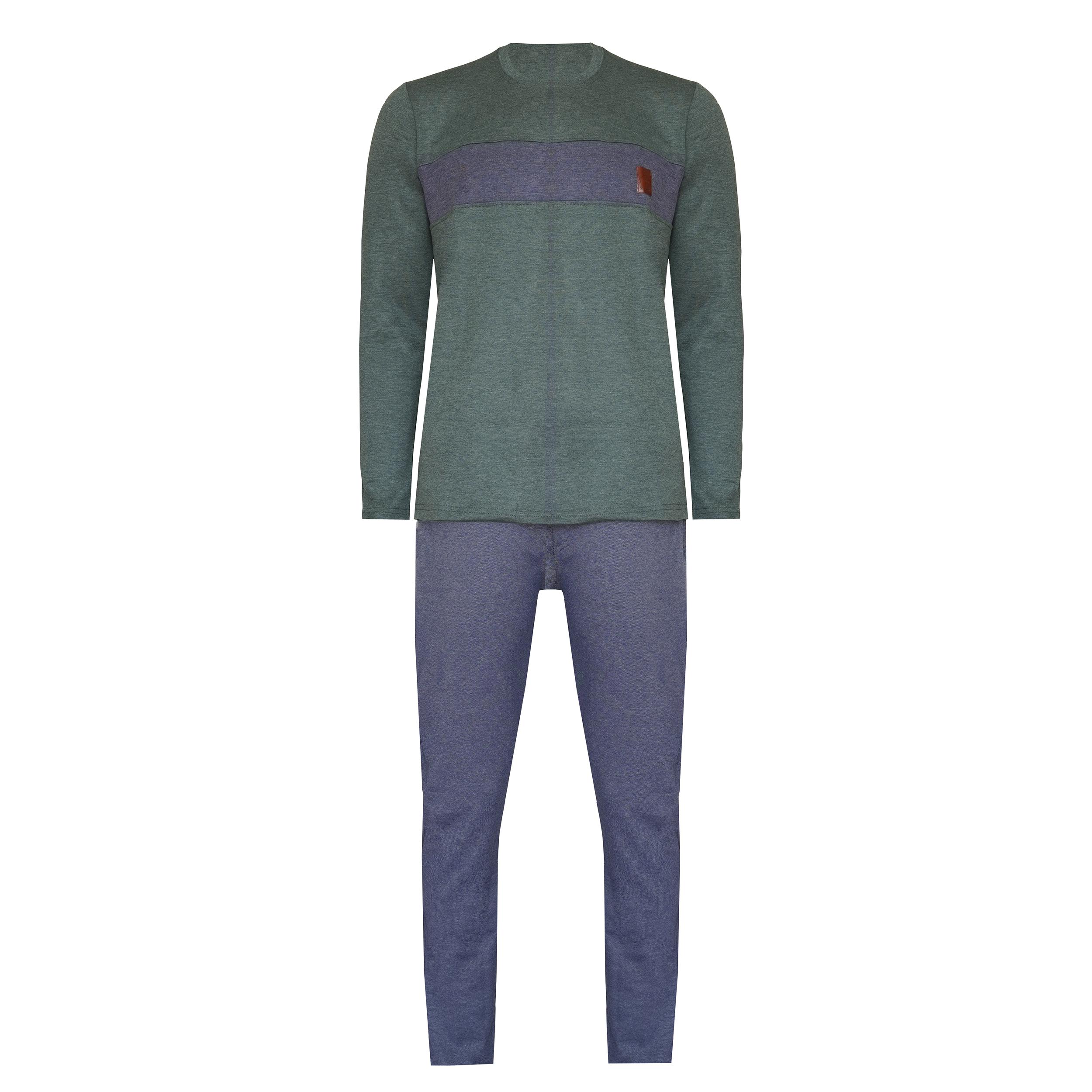 ست و سویشرت و شلوار مردانه لباس خونه کد 990804